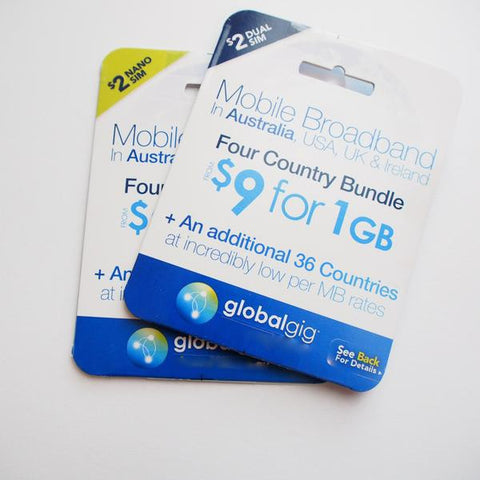 Globalgig Data Roaming SIM