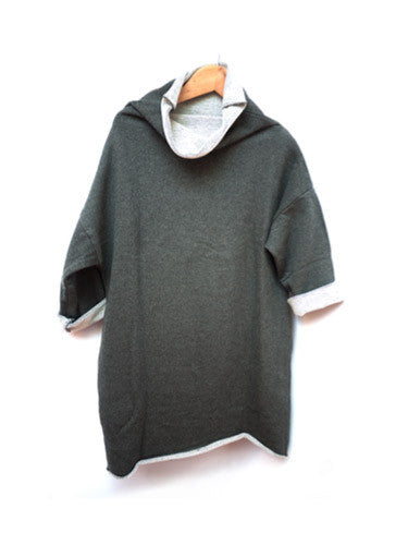 Robe du Travail in Cotton Sweatshirt