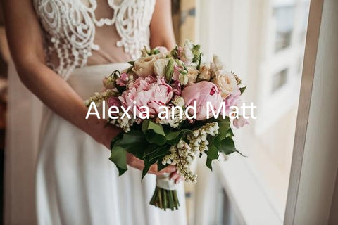 Alexia and Matt Wedding