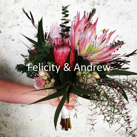 Wedding photos Felicity & Andrew