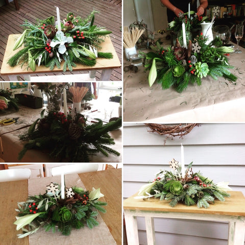 Christmas Workshop Arrangement