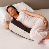 pregnant mum using milkbar breastfeeding pillow while sleeping
