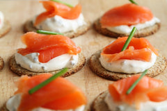 smoked salmon canapes are off the menu for the festive season while pregnant