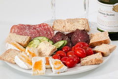 sliced meat food platter not for the pregnant mum