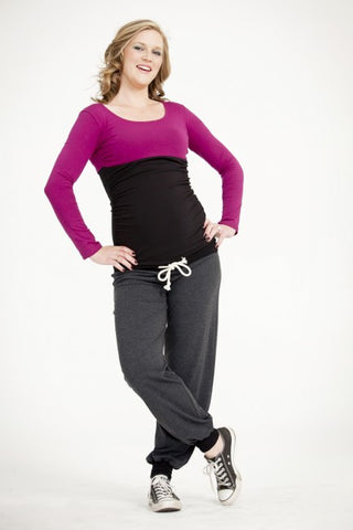 Egg Maternity Zip Milkbar Nursing Top