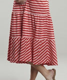 Maternal America Convertible Strapless Maternity Skirt
