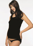 Japanese Weekend Cotton Rib maternity Tank black