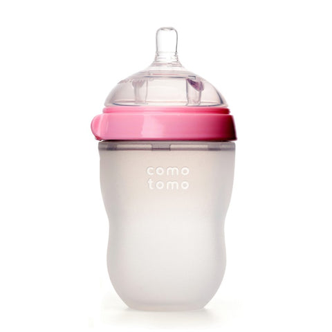 comotomo natural feel baby bottle pink 250ml