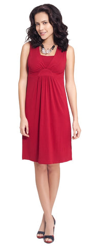 Milk Nursingwear Radiant Nursing Dress Red