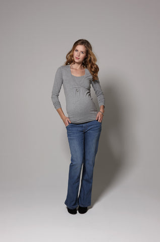 Esprit Maternity Flared cut under the belly jeans