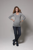 Esprit Maternity over the belly jeans regular cut darkwash