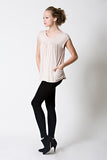 DOTE Lindsay Pocket Top Beige