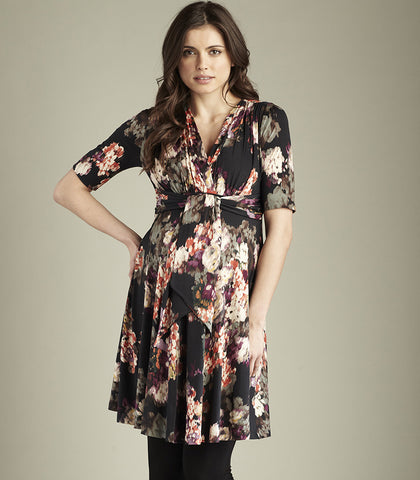 Maternal America Mini Front Tie Dress
