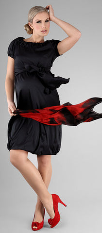 happy-mum-bella-maternity-dress-black