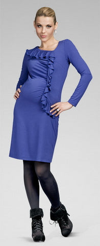 happy-mum-flirty-maternity-dress-blue