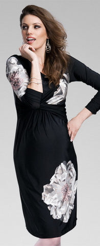 Happy Mum Negra Maternity Dress - Last one!