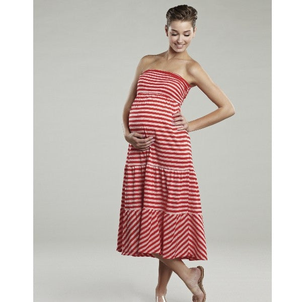 Maternal America Convertible Strapless Maternity Skirt Dress