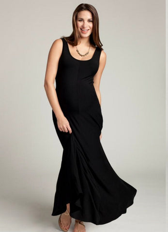 Ingrid & Isabel Tank Maxi Dress Black
