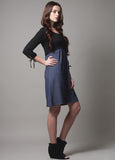DOTE Patti Breastfeeding Dress side view