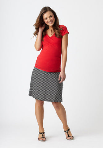 Pea in a Pod maternity flip skirt