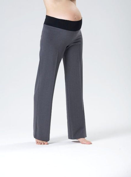 Pea in a Pod Suiting Maternity Pant grey