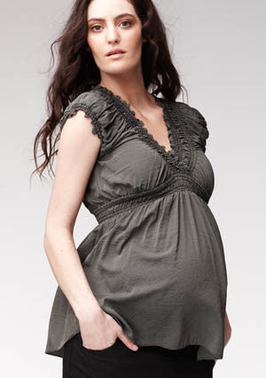 Soon Jess Gathered Maternity/Nursing Top