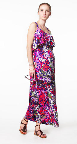 Venetia Kole Gretta Maxi Maternity Dress