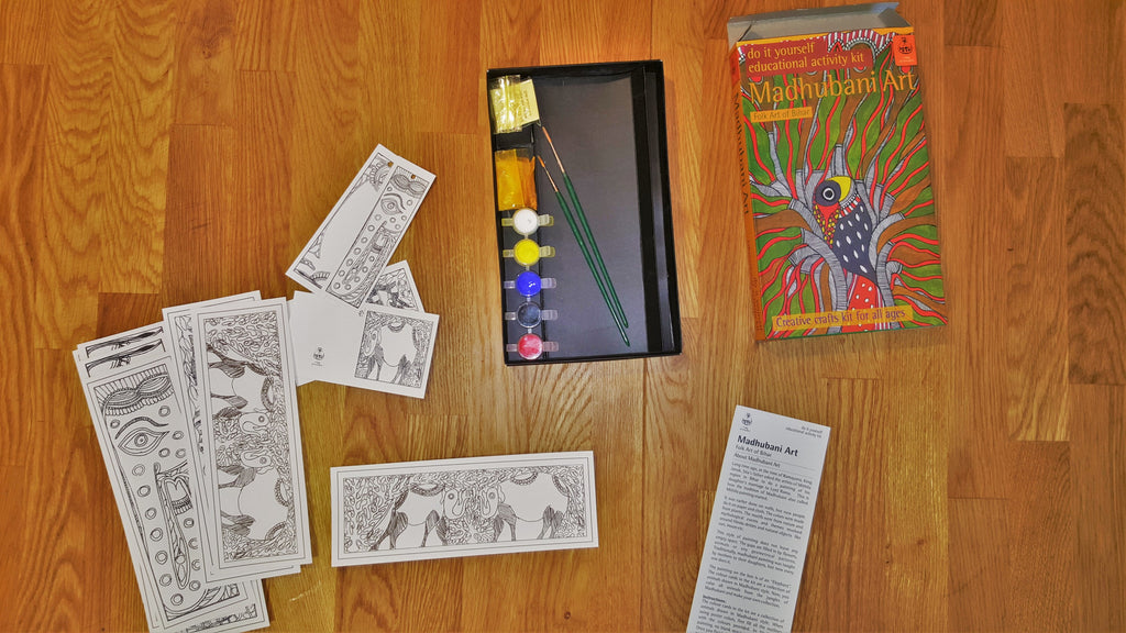 Potli Kits, Colouring-In and TV Alternatives
