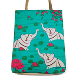 Elephant Bath Jhola Bag