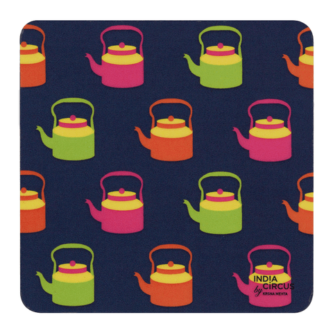 Kettle Calling Rubber Coasters
