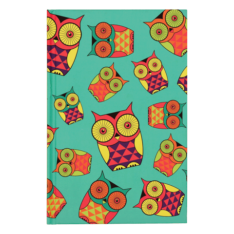 Peeking Owls Notebook