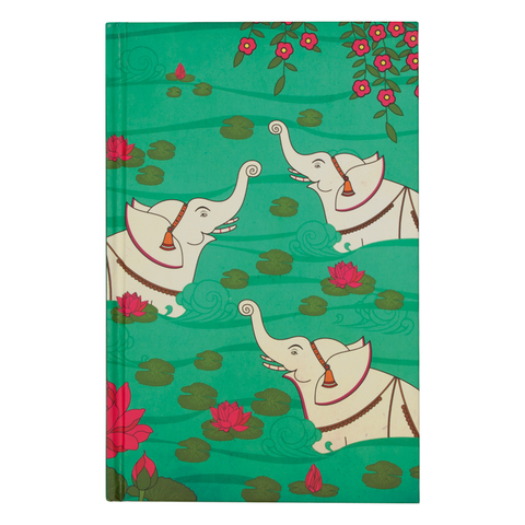 Elephant Bath Notebook
