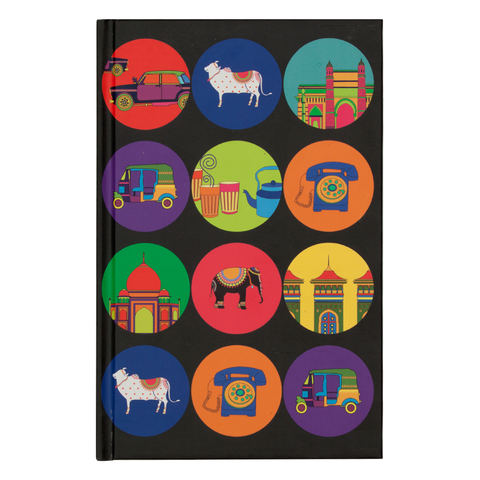 India Vibrant Notebook