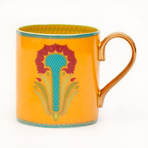 Floral Eloquence Coffee Mug