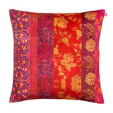 Floral Zones Poly Velvet Cushion Cover
