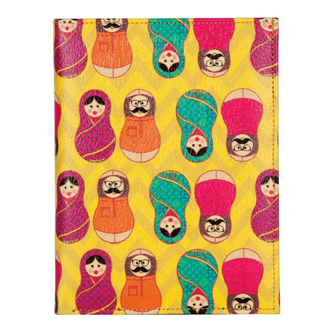 Desi Matryoshka Dolls Passport Covers