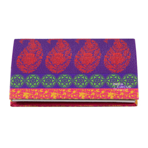 Motif Cachemire Business Card Holder