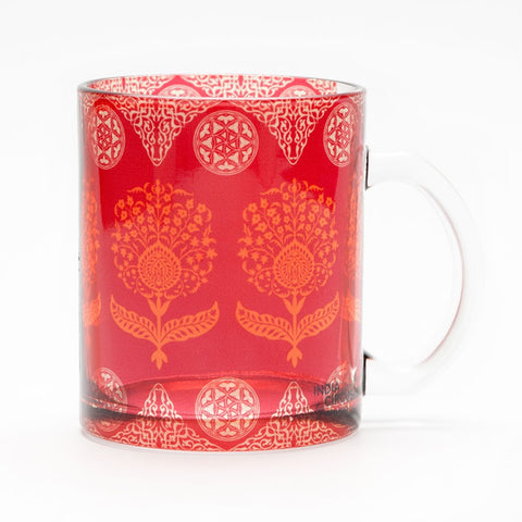 Regal Motifs Glass Mug