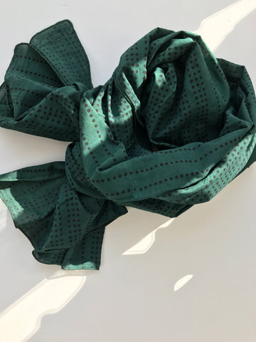 Green Carbon Rain Scarf