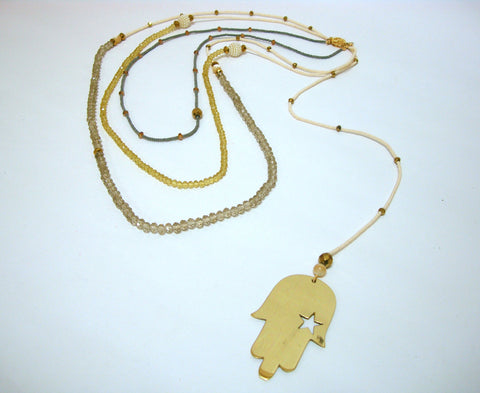Hand of Fatima Necklace 1