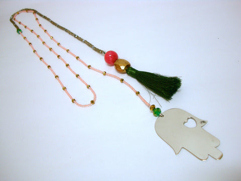 Hand of Fatima Necklace 2
