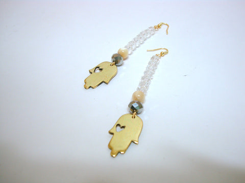 Hand of Fatima Earrings
