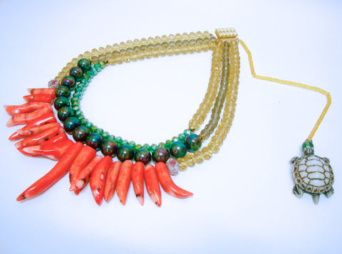 Big Chillies Necklace