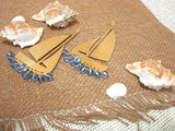 Boat Earrings