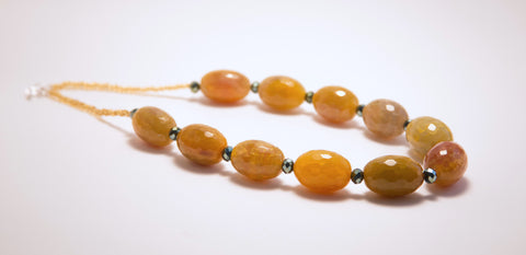 Amber Fields Necklace