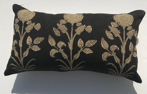 Black Moghul Cushion Set
