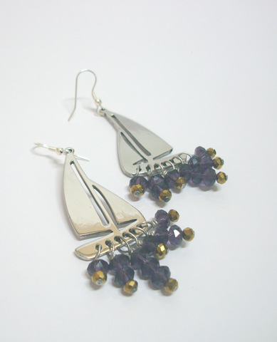 Little Boat Earrings