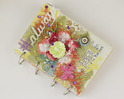 'Smile' Scrapbook Album