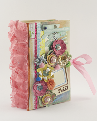 'Sweet Memories' Scrapbook Album