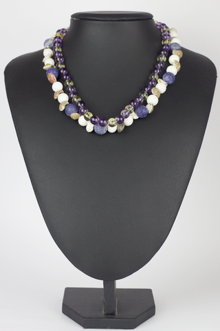 Violet Seashore Necklace